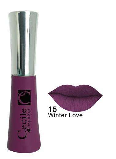 Cecile Long Kisses Lipgloss  15 Renkli